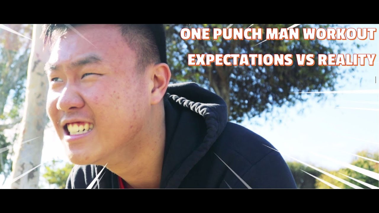 Saitama Workout Results - One Punch Man Workout: Expectations vs Reality - YouTube