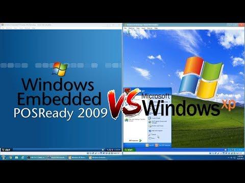 Windows Embedded POSReady 2009 vs Windows XP!