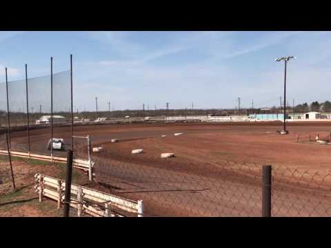 Austin's 2nd time out - practice 02/12/2017 @ Abilene Speedway