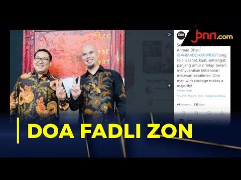 Doa Fadli Zon Untuk Ahmad Dhani