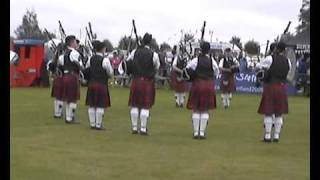 Elgin & District Pipe Band - Mintlaw 2009 Pipe Band Competition Entry