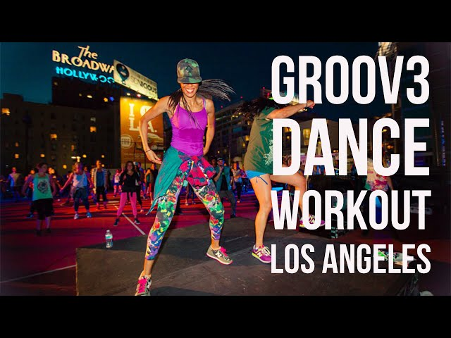 Groov3 Dance Workout in Los Angeles