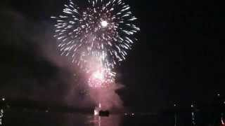 Lake Wawasee - Fireworks Finale - 4th of July