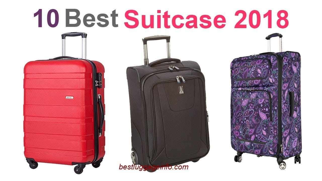 Best Suitcase 2018 | Ten Best Cheap Carry On Suitcase Luggage 2018 Sale.