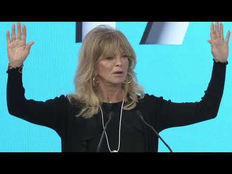 Mind Up And Be Happy! - Goldie Hawn - WGS 2018