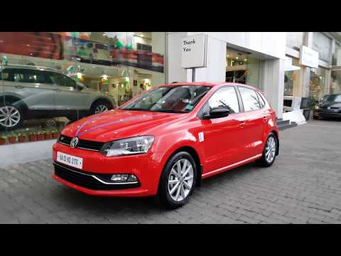 Taking Delivery of Red Volkswagen Polo GT in Red Dress|Black Spoiler|Exterior and Interior 4K 60FPS
