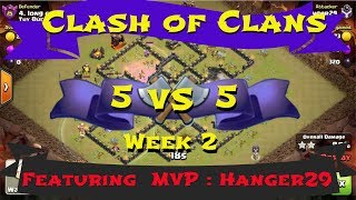 Clash of Clans - 5v5 Clan War (Week 2)