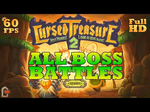 Cursed Treasure 2 - All BOSS Battles