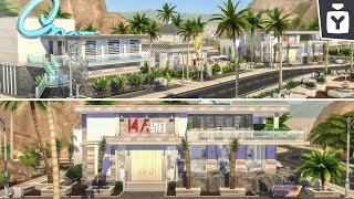 Oasis Springs Town Makeover 🌵 The Sims 4: Build Tour