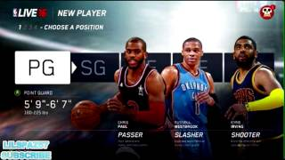 NBA LIVE 16 POSITION AND ATTRIBUTE RESTRICTIONS NO 7 POINT GAURDS