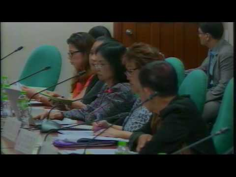 Committee on Finance - Subcommittee A (September 29, 2016)