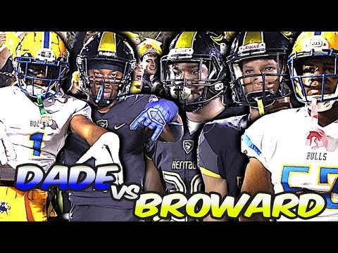 🌴 Miami Northwestern Vs American Heritage | South Florida 5A Showdown | TOP 2 HEAVYWEIGHT MATCH-UP