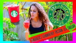 Diy Starbucks Strawberry Passion Tea Daiquiri | Non-alcoholic