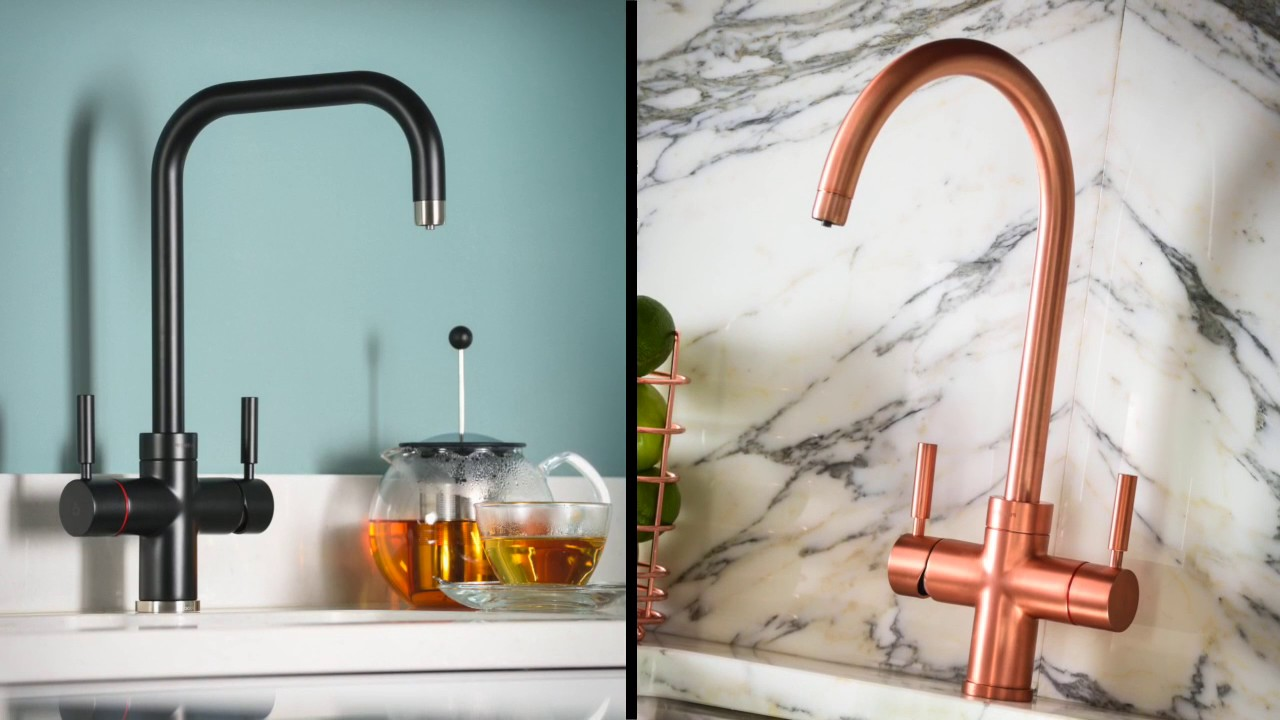 Pronteau 3 IN 1 Kitchen Taps by Abode - Extended Version - YouTube