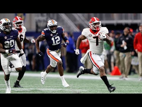 #6 Georgia Highlights Vs. #2 Auburn (Scott Howard Radio Calls) | SEC Championship 2017