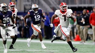 6 Georgia Highlights Vs 2 Auburn Scott Howard Radio Calls  SEC Championship 2017