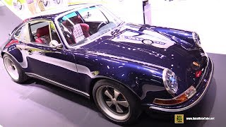 Porsche 911 The Monaco Comission by Singer Design - Walkaround - 2017 Detroit Auto Show