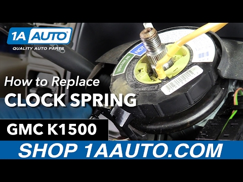 How to Replace Airbag Clock Spring 88-98 GMC Sierra K1500