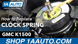 How to Replace Install Airbag Clock Spring 95-97 GMC Sierra K1500