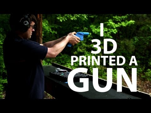 3D Printed Gun - Does It Shoot?