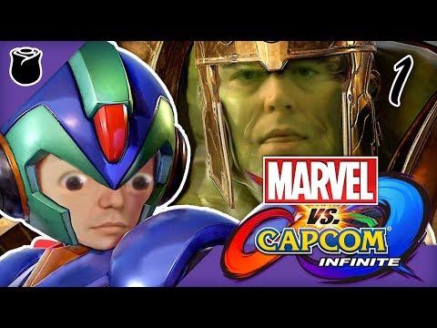 Marvel vs Capcom Infinite part 1: Tip of the Salt Berg