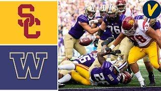 #21 USC vs #17 Washington | Week 5 | College Football Highlights | 2019
