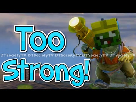 Minecraft Like 8 bit Head | Electrician Gameplay | Plants vs Zombies Garden Warfare