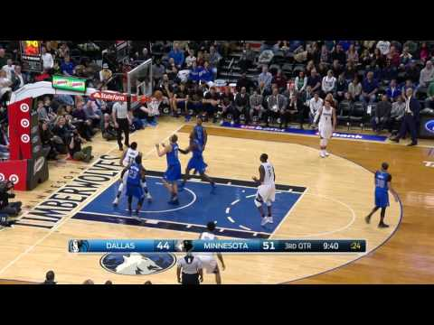 Dallas Mavericks vs Minnesota Timberwolves | February 24, 2017 | NBA 2016-17 Season