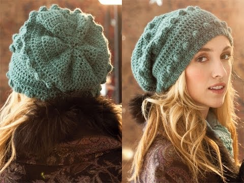38 Bobble Hat Vogue Knitting Crochet 2012 Youtube