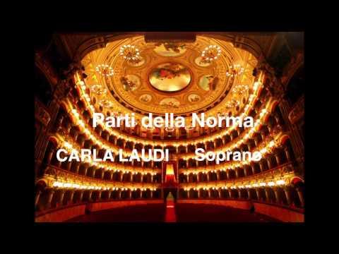 Selezione da Norma ; Carla Laudi Soprano ; orchestra Santa Cecilia