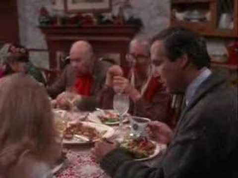 National Lampoon Christmas Vacation Dinner Scene