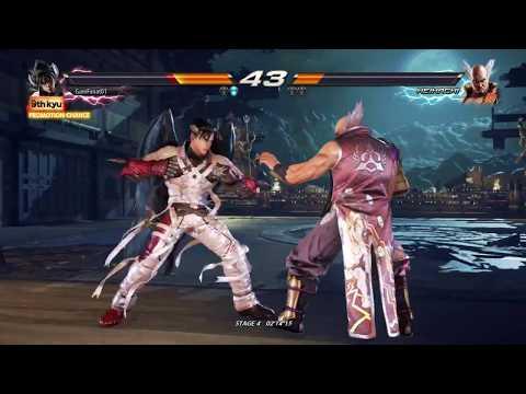 Tekken 7 PS4 Devil Jin Arcade Playthrough