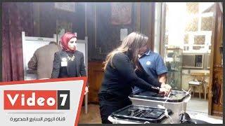 ابنة المستشار هشام بركات تشرف على أشهر لجنة انتخابية فى مصر