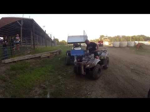 K.R.A. Speedway Heat Race 8/15/2013 UMSS