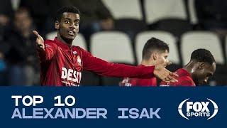 TOP 10 De eerste tien Eredivisie-goals van toptalent Isak