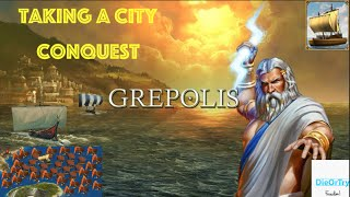 grepolis - How to Take a City (Conquest)