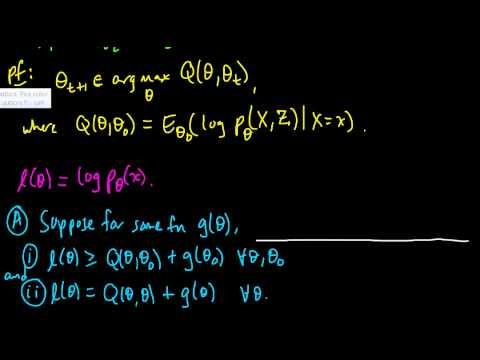 (ML 16.11) The likelihood is nondecreasing under EM (part 1)