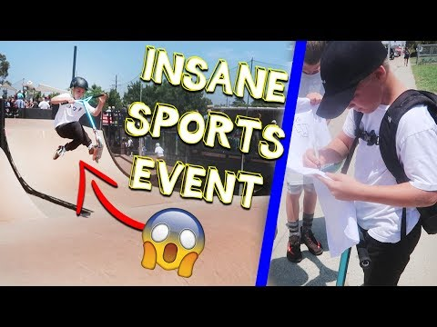 INSANE 8 YEAR OLD AT EXTREME SPORTS EVENT (Scootercon SD11)