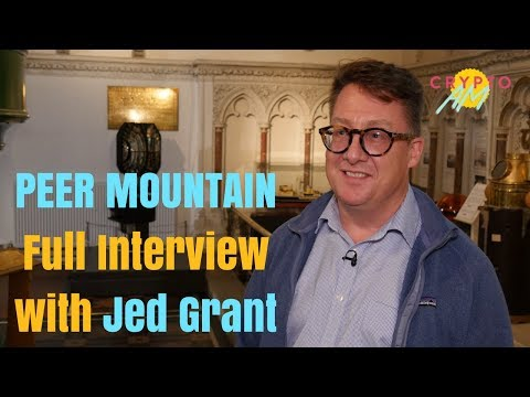 PEER MOUNTAIN - CEO, Jed Grant at Crypto Coast Summer Soirée (Full Interview)