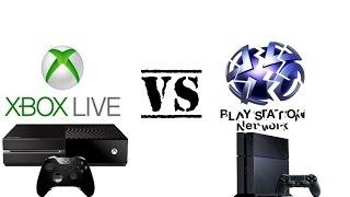 Xbox Live Vs PlayStation Network