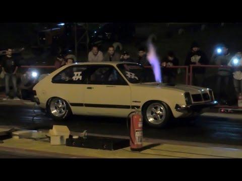 Chevette Turbo com motor de Golf 2.0 = + de 700 CV