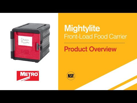 Mightylite Insulated Food Pan Carriers | Metro com