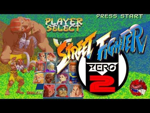 Dhalsim playthrough - Street Fighter Zero 2 (arcade) - 동영상