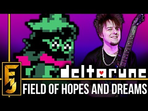 """DELTARUNE - """"Field Of Hopes And Dreams"""" METAL 