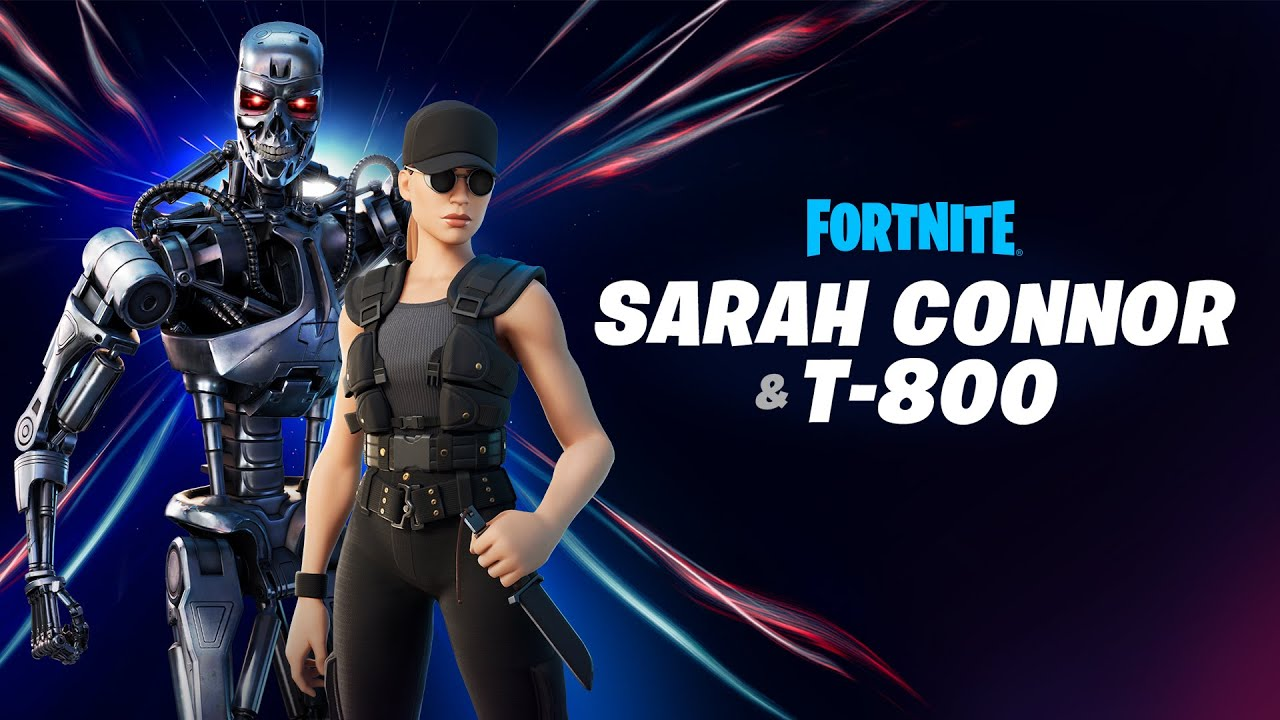 Sarah Connor and T-800