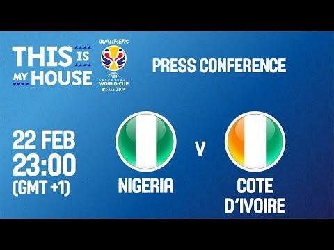 Nigeria v Cote d'Ivoire - Press Conference