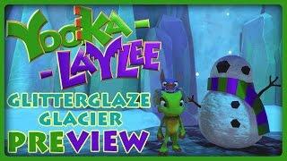 """YOOKA-LAYLEE World 2 """"Glitterglaze Glacier"""" Preview"""