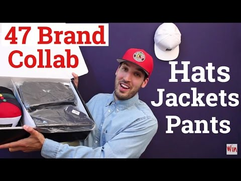 New Collab Unboxing From 47 Brand! Hats & Jackets