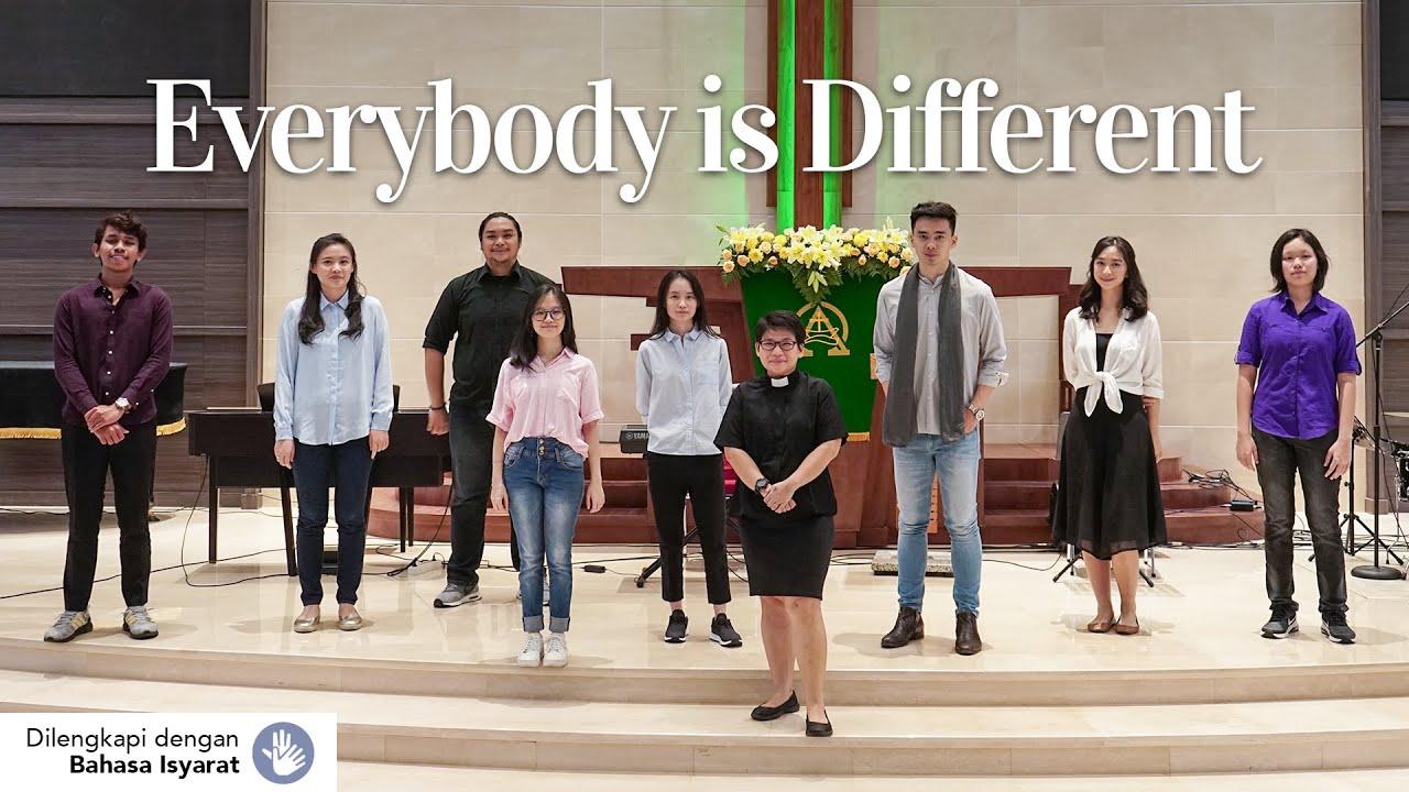 Ibadah Online | Everybody is Different - Pdt. Yael Lamorahan - Minggu, 09 Agustus 2020