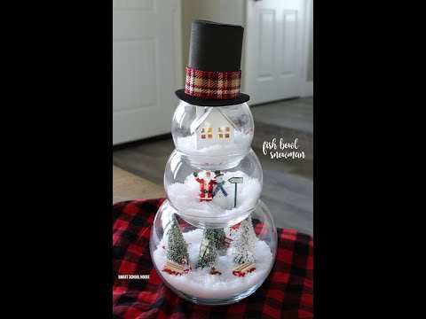 25-easy-snowman-crafts-for-kids-and-adults---diy-snowman-christmas-decor